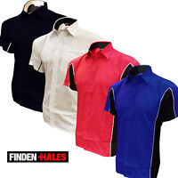 Finden Hales Darts/ Pool/ Corporatewear Club Shirt 3 Colours Mens New Low priced