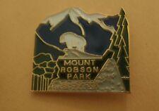 Mount Robson Provincial Park British Columbia Canada Lapel Pin