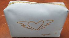 BRAND NEW AGNES B SKY BLUE COSMETIC BAG BY CATHAY PACIFIC