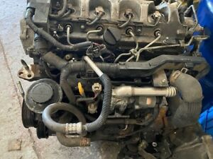 TOYOTA AVENSIS ENGINE 2.0 DIESEL 1AD FTV  2003-8 with injectors, pump no turbo