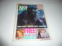 Number One Magazine (15/9/84) - David Bowie cover
