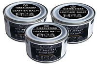 Leather balm cleaner conditioner restorer waterproof treatment sandalwood X 3