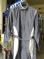 TUTA SPARCO AUTO OMOLOGATA FIA x-light evo3 tg 54 RACING RALLY RACE SUIT grey 54