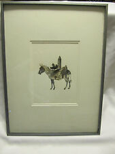 John Digby (b.1938) VTG Collage signed and professionally framed. **LOOK**