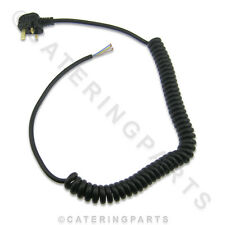 MF01 COILED MAINS FLEX WIRE CABLE 13 AMP WITH MOULDED PLUG HEAVY DUTY APPLIANCES