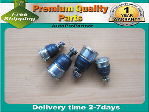 4 FRONT UPPER LOWER BALL JOINT FOR ISUZU OASIS 96-99