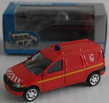 Norev-Dacia Logan Express Rouge Pompiers Nouveau/Neuf dans sa boîte
