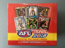 2018 AFL Team Coach Cards Boxed (36 Packs)