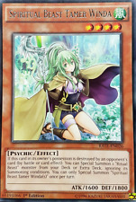 3X UNLIMITED  Spiritual Beast Tamer Winda -Rare- RATE-EN026-NM-Yugioh Raging Tem