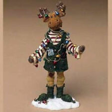 "Boyds Moosetroop ""Milo Binglemoose. Santas Helper"" #36915 -New- 2004"