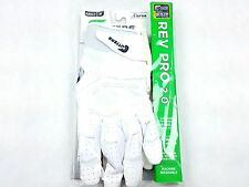 Cutters S451 Rev Pro 2.0 Solid White Adult XL Football Gloves