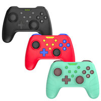 Wireless Pro Controller for Nintendo Switch and PC, Amiibo/NFC, Gyro, Rumble