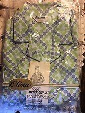 Vintage Olina Mid Century Men's Pajama Set NIP Medium