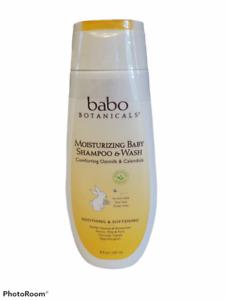 Babo Botanicals Moisturizing Baby Wash & Shampoo 8 oz. Baby Shampoo & Soap