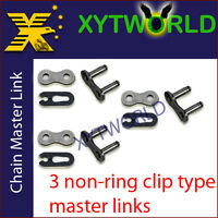 JLC-520H NON RING Master Joint Joining Link CLIP TYPE FOR #520 CHAIN Motorcycle