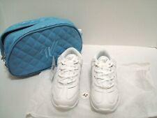 White Varsity Cheerleading Ii Shoes Size 2Y Never Worn w/Dust Bag + Travel Bag