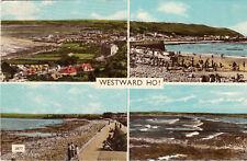 Postcard -   Westward Ho     ( Ref B7)