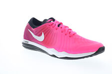 Nike Dual Fusion Tr 4 Print Womens Pink Low Top Athletic Cross Training Shoes 7