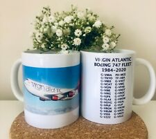 More details for queen of the skies virgin 747 mug