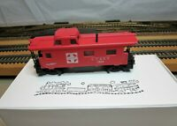 "TYCO 327-22 HO Scale Custom Streamline Offset Cupola Caboose ""AT&SF"" with KD's"