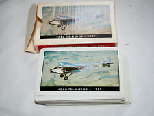 Vintage TWA AIRLINES PLAYING CARDS COLLECTOR SERIES FORD TRI-MOTOR 1929