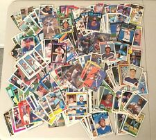 Lot of over 450 ATLANTA BRAVES baseball cards - all different years!!