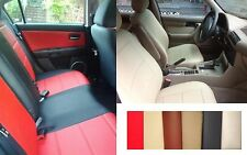 Front and Rear Leatherette Car Seat Covers Fits Mercedes E-Class 1976-1997 SEDAN