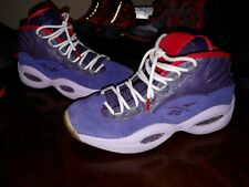 87f4ccf6db3b1a Reebok iverson questions ghost of christmas size 9.5 mid top basketball  shoes