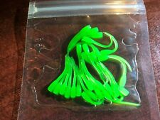 """or 100-Count pack 1.25/"""" Paddle-tailed panfish micro-grubs...ice fishing..25 50"""