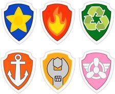 TOPPA logo PAW PATROL SCUOLA ASILO MATERNA SCEGLI IL TUO LOGO X IL GREMBIULE