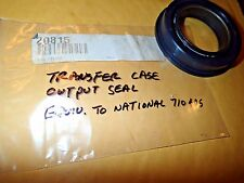 Transfer Case Front Output Shaft Oil Seal 20815, Equiv. to National 710495