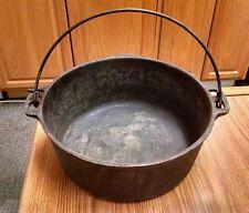 Cast Iron Dutch Oven, 5 Qt. Made In U.S.A.  No Lid, Unknown Maker