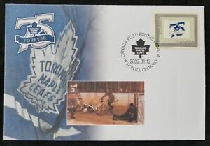 *Kengo* Canada stamp #S47 - 2002 Special Cover Toronto Maple Leafs 75 years @E48