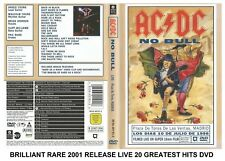 AC/DC - Very Best Greatest Hits Live - RARE 2001 Release Heavy Rock & Roll DVD