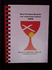 Central Christian Church 175th Anniversary Cookbook, Kettering OH