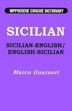 Sicilian-English, English-Sicilian Hippocrene Concise Dictionary, Guarneri, Marc