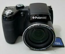 Polaroid iS2132 16.0MP 21X Optical Zoom Digital Camera - Black *GOOD/TESTED*
