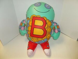 """1998 The Letter People Mr B Has Beautiful Buttons Inflatable 20"""""""