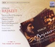 Fabio Biondi - Vivaldi: Bajazet (NEW 3CD)