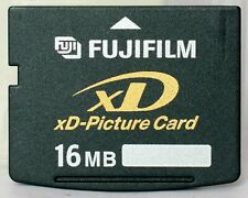 Fuji 16mb xd card, made in Japan by Toshiba, including case.