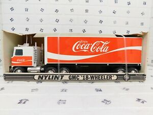 Vintage Nylint GMC '18-Wheeler' Coca-Cola (Made of Steel) No. 911-Z