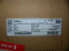 Weg 75 Hp Motor 208 230v 60 Hz 1 Phase 75 Hp04p2135t 1800 Rpm 1106535 New