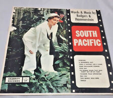 "Rodgers Hammerstein South Pacific Original Record 12""33 rpm LP Celebrity record"
