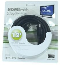HDMI Cable Full HD 12 ft (3.6m) 3D 1080p - Black