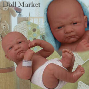 """Berenguer 14"""" La Newborn 18500 First Day Home Real Boy Baby Doll - New in Box"""