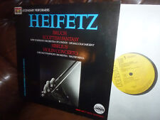 Heifetz, Bruch Scottish Fantasy, Sibelius Violin, German RCA Digital Remasterd