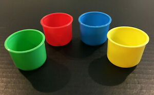 4 Buckets Orignal Parts for 2005 Hi Ho! Cherry-O Game
