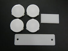 63 64 65 Buick Riviera Interior Light Lens Set Complete - Map Sail Panel Console