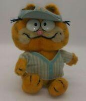 Garfield Vintage 1981 Baseball Plush Stuffed Animal Collectible Fun Farm Toy Cat