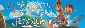 Disney Pixar Luca Personal Birthday Banners - waterproof banner + eyelets